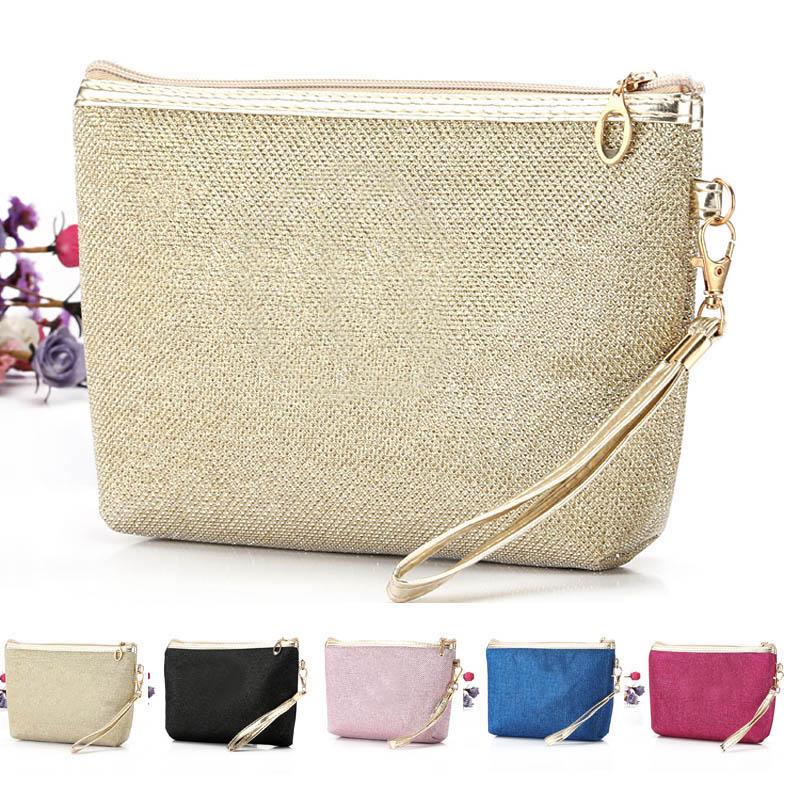 e1a614eccd 2016 Women Classic Makeup Bag Phone Cases zipper Bags Day Clutches High  Quality Cosmetic Bag