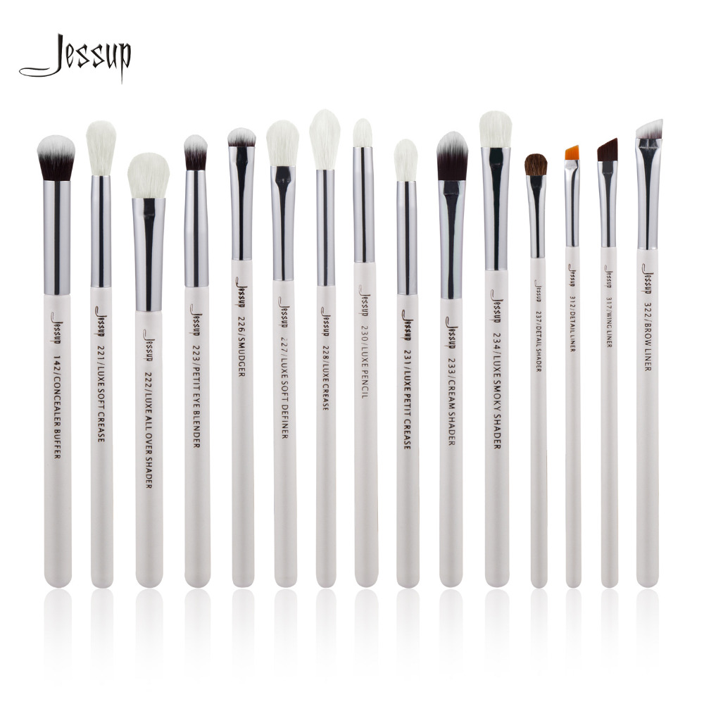 Jessup Brand Pearl White Silver Professional Makeup