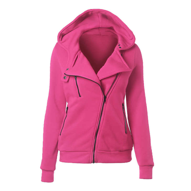 Модные толстовки с капюшоном женские толстовки с длинными рукавами куртки на молнии Перемычка Hoody пальто Верхняя одежда Harajuku женские толстовки