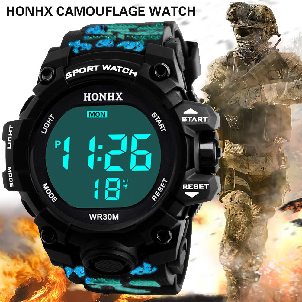 Permalink to Digital Watch Luxury Brand Men Analog Digital Military Army Sport LED Waterproof Wrist Watch Reloj Hombre