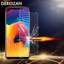 цена на DEROZAN Screen Protectors For Oukitel U18 Tempered Glass Proctive Ultra Thin Front Film For Oukitel U18