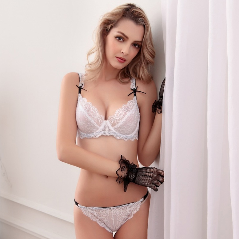 d24c37dddf Manufacturer without pad lace bra underwear high quality sexy girls bra sets-in  Bra   Brief Sets from Underwear   Sleepwears on Aliexpress.com
