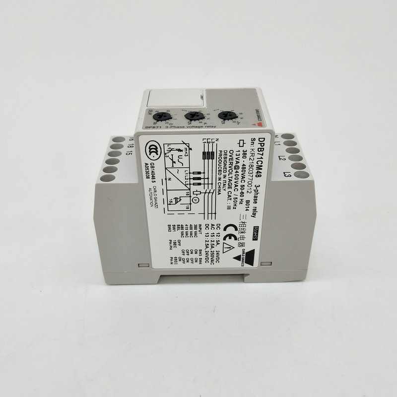 цена на DPB71CM48 carlo gavazzi Multi-function three phase 3 phases voltage relay Monitoring relay free shipping