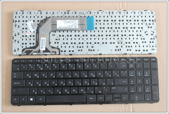 Russian Laptop keyboard for HP Pavilion v140546bs1 AER68700310 2B-07016Q110  black RU keyboard