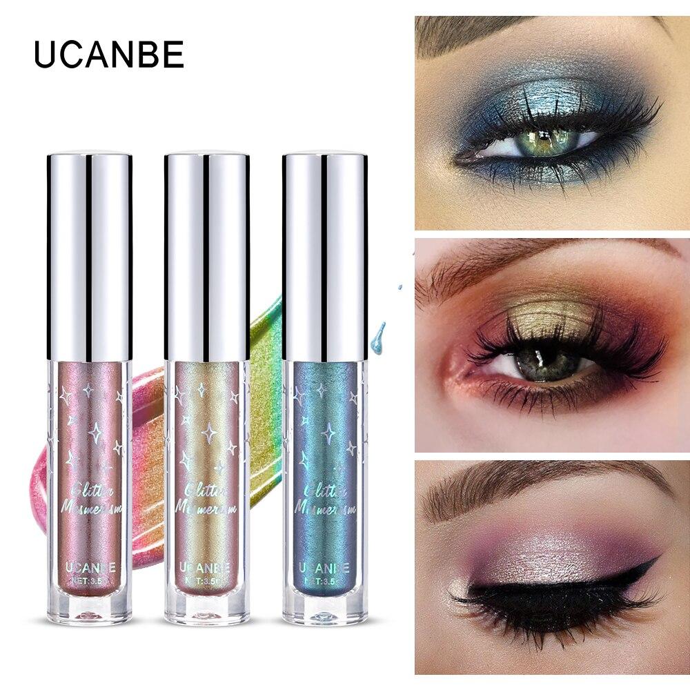 Eye Shadow Humorous Diamond Crystal Luster Glitter Eyeshadow Cream Pigment Metallic Shiny Holographic Eye Toppers Single Eye Shadow Highlight Makeup