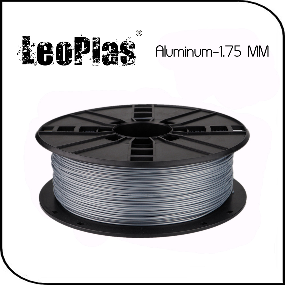 Worldwide Fast Delivery Manufacturer 3D Printer Material 1 kg 2.2lb 30% Metal Powder 1.75mm PLA Aluminum Filament deppa азу deppa usb 1а дата кабель 8 pin apple mfi ultra витой black