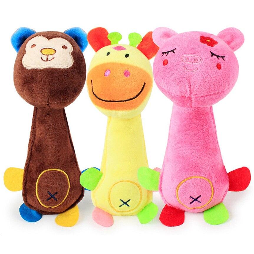Dog Toys Sound Plush Bear Squeak Toy For Small To Medium ... |Fun Dog Toys