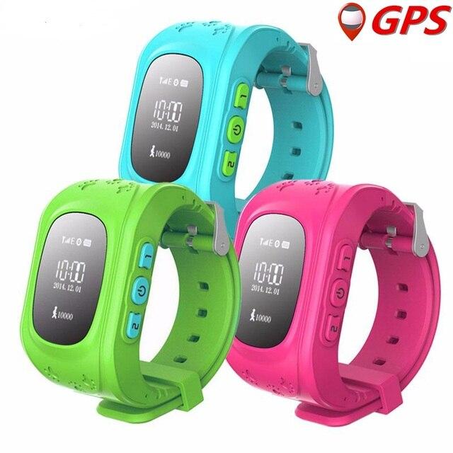 Умный Малыш Часы Q50 Дети GPS Tracker Часы Наручные Часы Smartwatch SOS Вызова Локатор Местоположение для Малыш Анти-Потерянный Монитор PK Q80