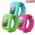 Bebé inteligente Reloj Q50 Niños Reloj GPS Tracker Reloj SOS Llamada Ubicación Localizador Monitor Anti-perdida Smartwatch para el Cabrito PK Q80