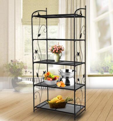 Home storage rack shelf multifuction metal storage organizer holder shelf home storage decoration shelf