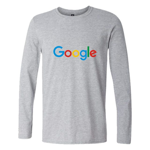 Google Print Long Sleeve T-shirt