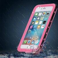 Orignal Dziennik Redpepper Wodoodporna, Odporna Na Wstrząsy Pokrywa dla iPhone 6 Plus Ekstremalne Przenoszenia Coque Pokrywa dla iPhone 6 6 S 7 7 Plus