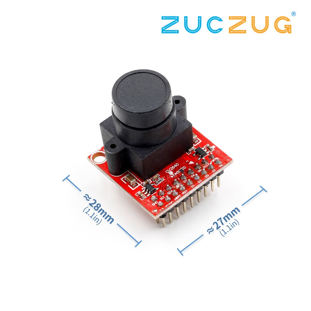 1pcs OV2640 camera module Module 2 million pixel electronic integrated with jpeg
