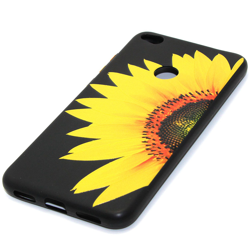 3D Relief flower silicone case huawei p8 lite 2017 honor 8 lite (23)