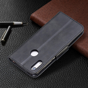 Image 4 - Da Vintage Dành Cho Huawei Y5 Y6 Y7 Danh Dự 10i 10 Lite Giao Phối 30 Lite P30 PRO Cấp Kiểu Ví thẻ Từ Bao