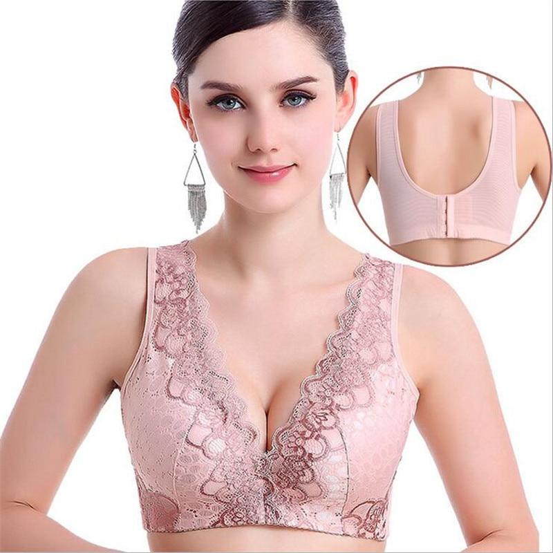 no steel rims bra small chest gather women underwear adjustable lace beautiful vest bra thick. Black Bedroom Furniture Sets. Home Design Ideas