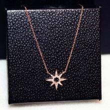 Женское Ожерелье чокер с подсолнечником из розового золота модные