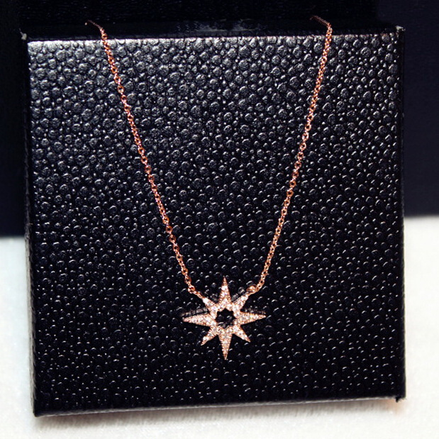 rose gold color rhinestone sunflower choker necklace women bijoux