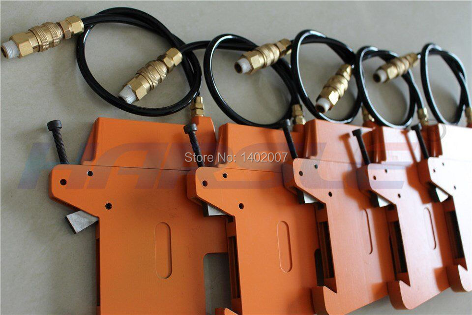 Pneumatic cutting tool holder, strong shear slitting knife set  цены
