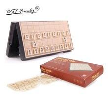 Bstfamly japão shogi 25*25*2cm magnético dobrável internacional verificador dobrável japonês sho-gi xadrez jogo de mesa crianças presente j01
