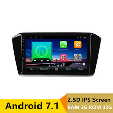 10″ 2+32G 2.5D IPS Android 7.1 Car DVD Multimedia Player GPS For Volkswagen VW Passat B8 2016 2017 2018 radio stereo navigation