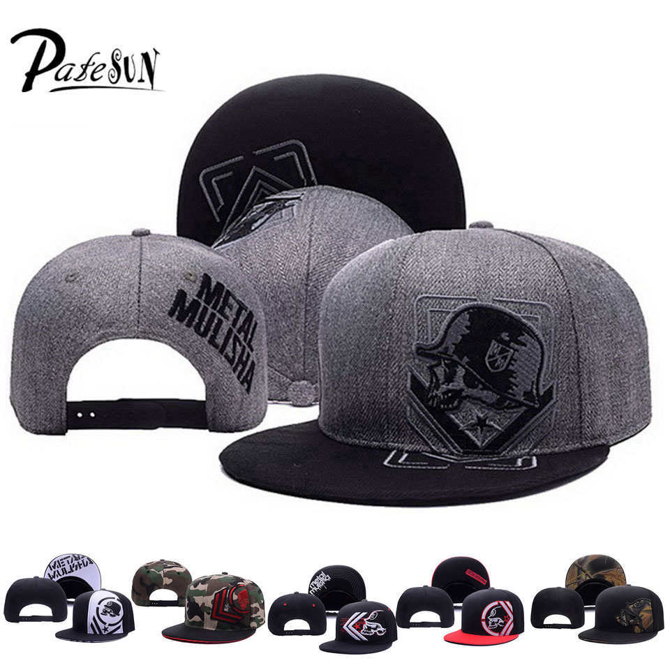 PATESUN Top Selling Gothic Metal Mulisha Baseball Cs