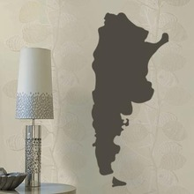 Argentina map Globe Earth Country wall vinyl sticker custom made home decoration fashion design
