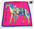2015 new fashion women Square scarf,size:140X140, Large square 4 colors Horse