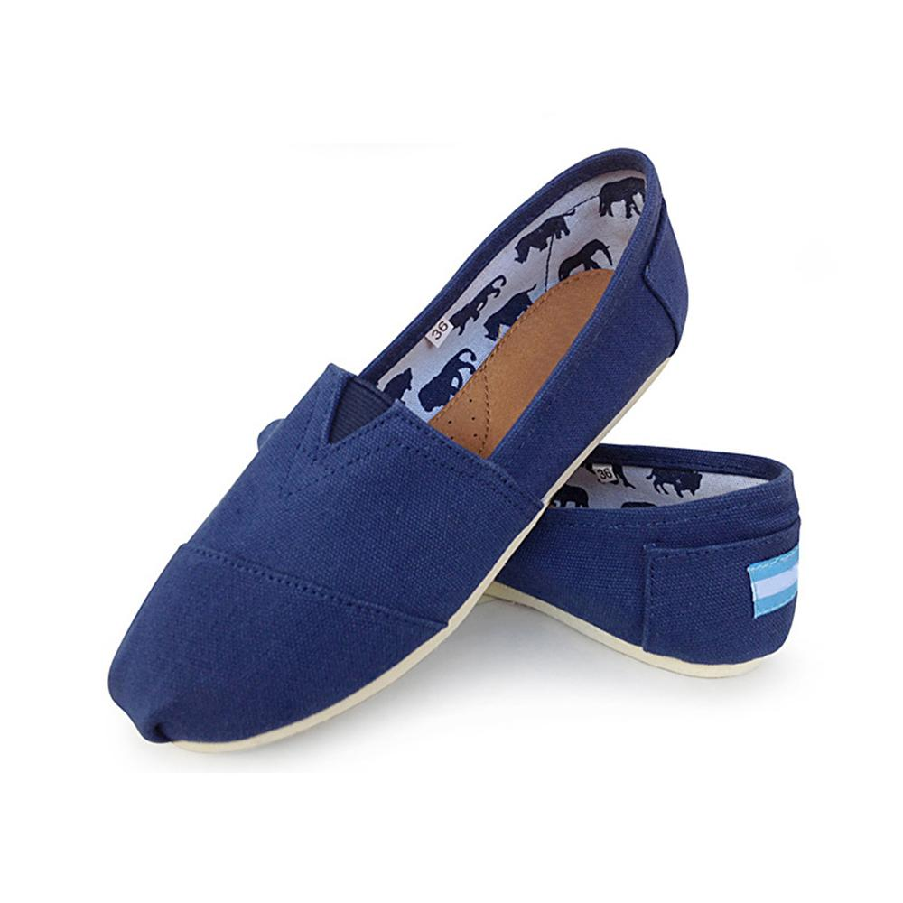 Tama O red Slip Transpirable Lona rose Espadrilles blue Zapatos beige grey Pisos Classic red Unisex Stripes Black 2018 yellow On Stripes Stripes Grande grey Hombres Stripes 45 With Blue sky blue 35 black brown UvPWz
