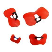 Óculos antiderrapantes vermelho, 20 peças, s/m/l/xl, frango vermelho, sem parafuso, animais agrícolas suprimentos transportadores de aves