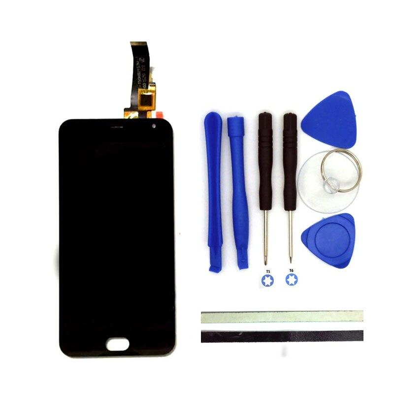 100% nouveau pour meizu m2 mini lcd display + digitizer tactile écran de Remplacement 5 Pouces Meiblue M2 Mini Téléphone Pièces Avec Des Outils Libres