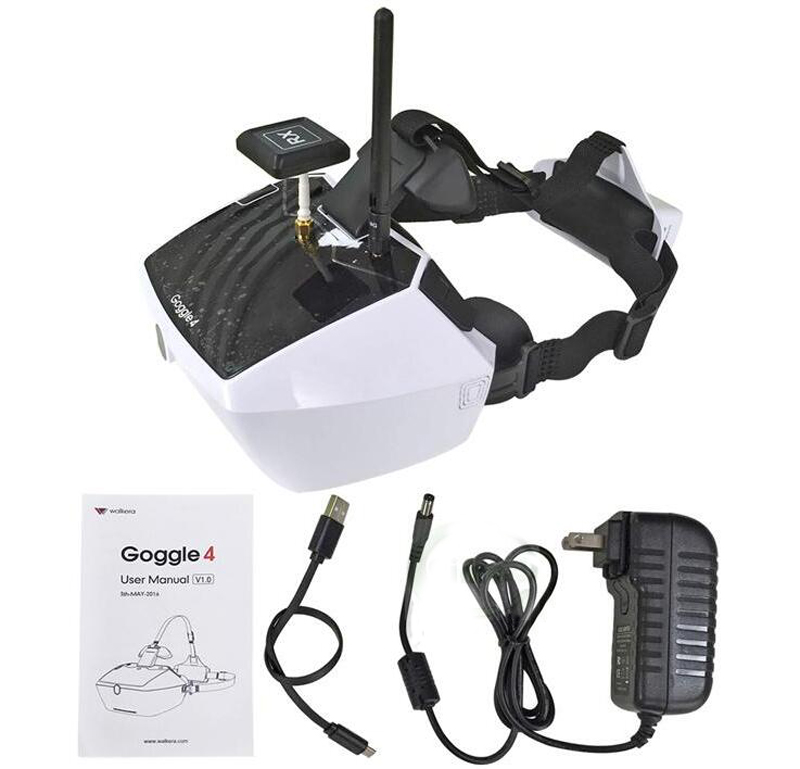 Walkera 5.8G 40channels Goggle4 FPV Video image transmission glasses FPV spectacles with antenna