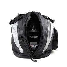 Waterproof Motorcycle Riding Helmet Bag High Capacity Tail Bag Knight Travel Luggage Case Handbag Backpack Tool Bag