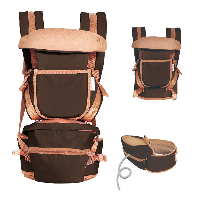 Ergonomic Multifunctional Baby Carrier Infant Backpack Hipseat