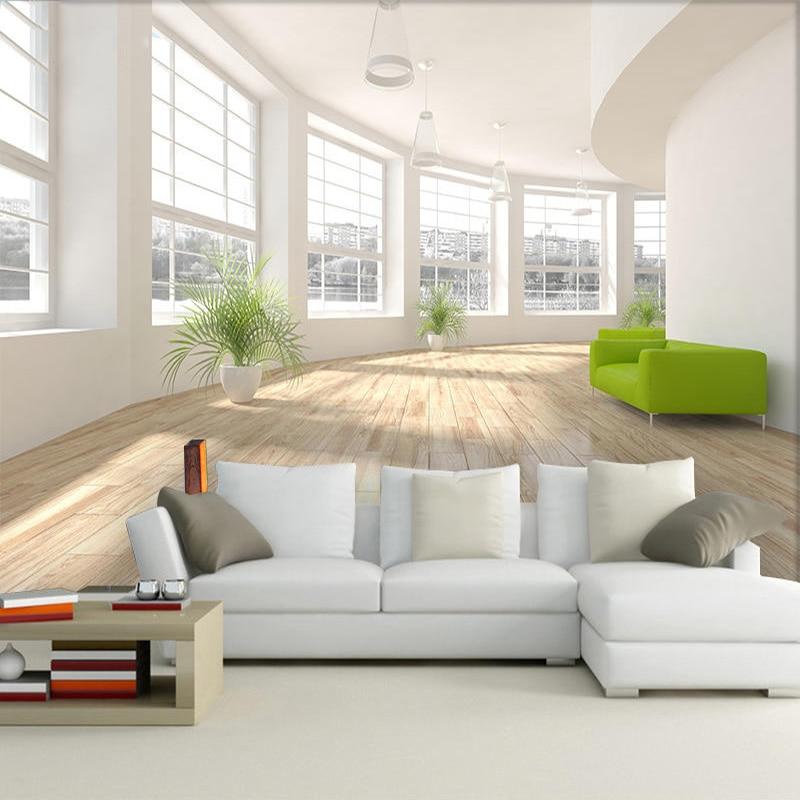 Modern Simple 3D Stereo Space Expansion Mural Wallpaper Living Room Office Interior Decor Wallpaper Papel De Parede Home Decor
