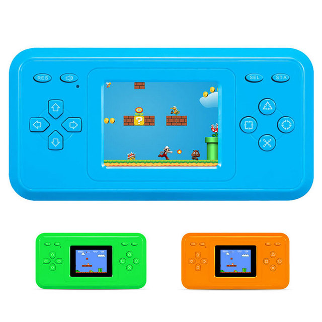 2.4inch LCD Color Screen Handheld Game Player 298 Classic Retro FC Games Best Gift to Children/Kids Coolboy Upgraded Game Player