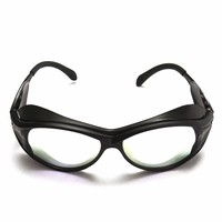New Arrival PC 150mm CO2 Laser Protective Goggles Double Layer Professional Glasses 10 6um OD 7