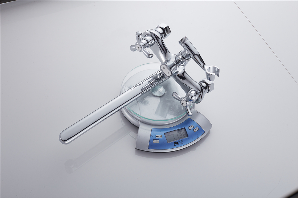 ̿̿̿(•̪ )Dikalan Bath Faucet Single Hole Tap Modern Style Home Deck ...