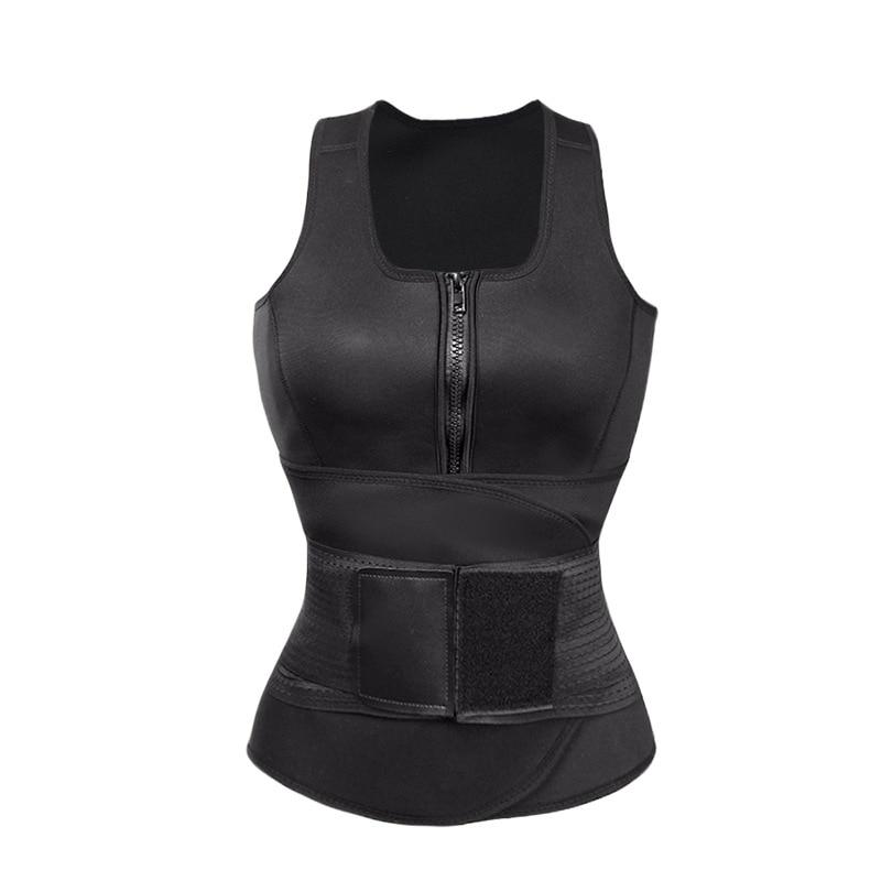 Abbille Slim font b Shapewear b font Waist Trainer Waist Shaper Vest Plus Size Slimming Body