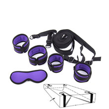 Handcuffs bdsm bondage erotic under bed masque sexe game sex pet play handcuffs mask sexo toys Women Men