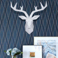 Deer head decoration wall hanging Nordic style animal head living room dining room clothing store wall wall decoration pendant