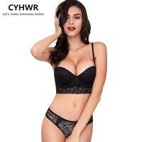 CYHWR 2016 Women S Sexy Underwear Wedding Lace Embraidery Bra Set Seamless Brassiere With Lingerie Se