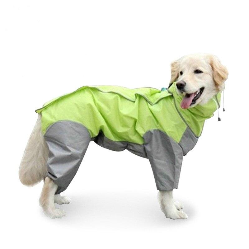Модная одежда для собак, пальто для собак, куртки 2019, новый светоотражающий дождевик для маленьких средних и больших собак, водонепроницаемые тканевые принадлежности