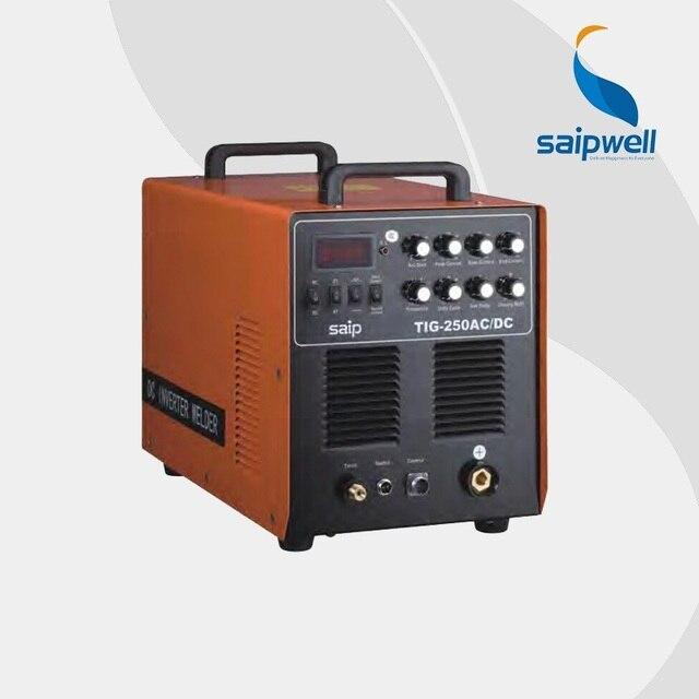 Welder 's professonal choice Saipwell aluminum welding equipment IGBT Module DC Inverter machine TIG-250 AC / DC