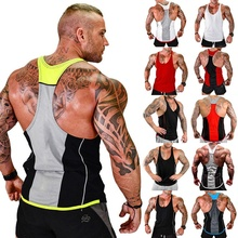 ZOGAA Gym Men Bodybuilding Tank Top Muscle Stringer Athletic Fitness Shirt Clothes Cotton Hot Clothing Summer Sale