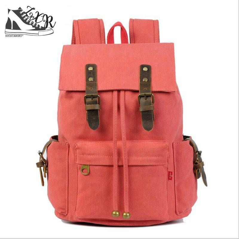 Trendy New Canvas Bacpack Men Women Designer Casual Schoolbag Students Travelling Laptop Bag Fashion Canvas Cowhide Bag canvas splicing backpack men retro trendy casual laptop bag women durable casual school bag stylish schoolbag