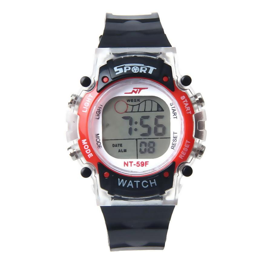 relogio masculino erkek kol saati  reloj mujer  LED Electronic Sports Watch children watches hot sale hour clock May30 мужские ботинки shoiberg