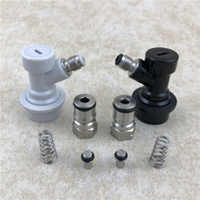 Stainless Ball Lock Post & Poppet Female Thread Gas+liquid 19/32-18 lock disconnect for Beer home brewing cornelius keg