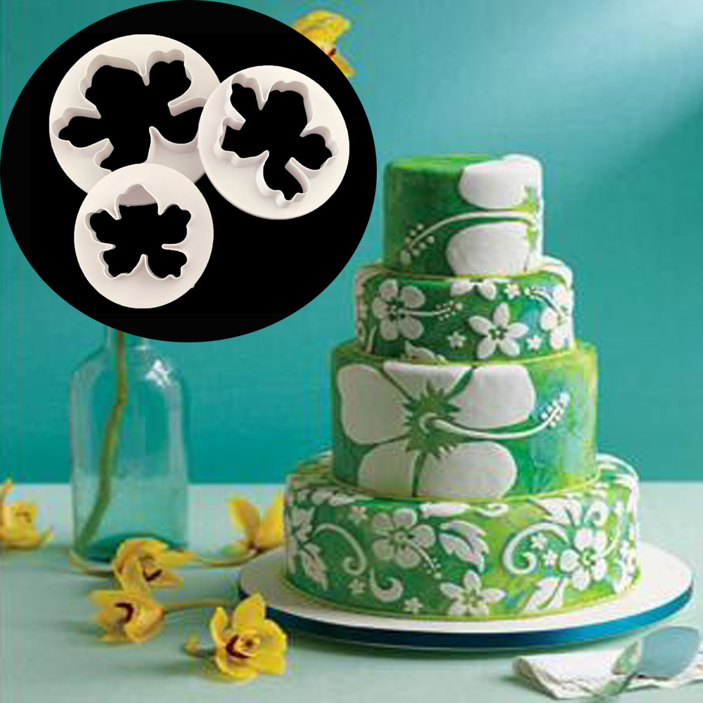 Aouke 1pcs/set Hawaii Flower Decoration Cookie Cutter ...