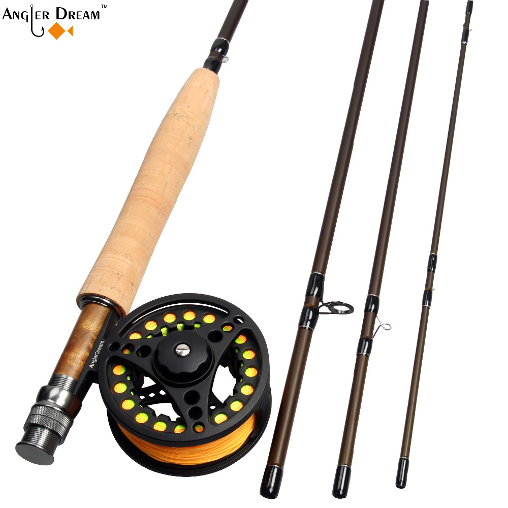 Fly Fishing Combo 3 5 8WT 8.3 / 9FT Fibre Carbon Fly Ψάρεμα - Αλιεία